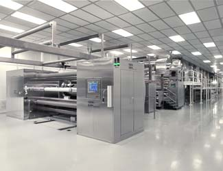 Clean Room Slot Die Coating Line