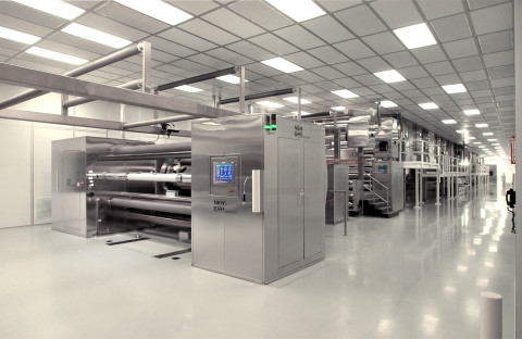 Web Converting Machinery - fully integrated high-speed automatic process lines and systems