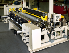 Coater Wired for Non-Hazardous Area