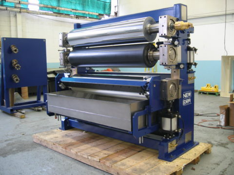 Hot Melt Roll Coater for Wax Application