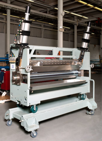 Cartridge Knife Over Roll Coating Station