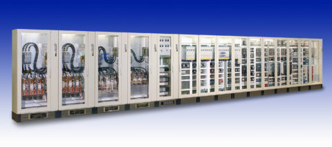 Siemens Multi-Bay Drive Panel