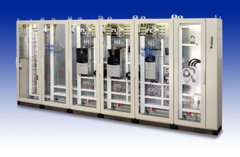 Allen Bradley Drive and Control Cabinet