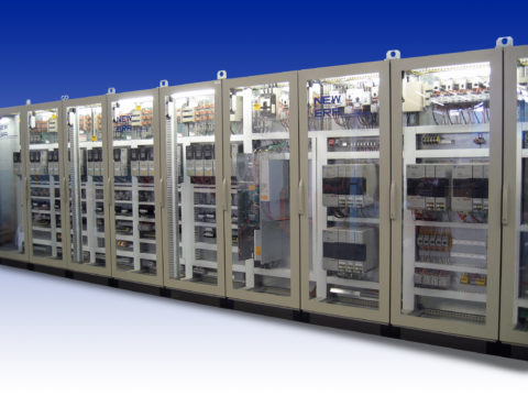 Allen-Bradley Multi-Bay Drive Panel