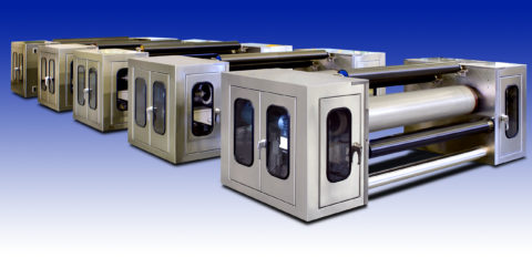 Clean Room Vacuum Pull Roll Stations