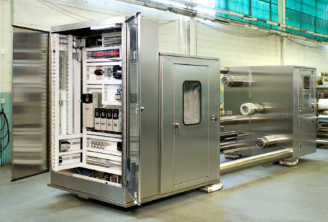 Machine Mounted Drive Cabinet
