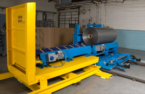 Custom Roll Handling Carts for Unwinds and Winder