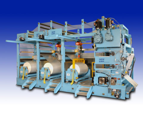 Multi-Web Thermal Laminating Line