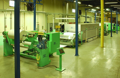 Silicone Coating and Hot Melt PSA Laminating Line