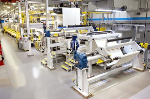 Custom Coating and Laminating Equipment Line