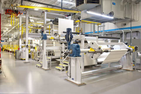 Custom Coating and Laminating Equipment Line