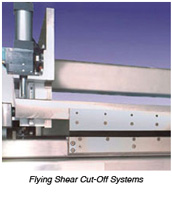 Flying Shear Cut-Off Knife System