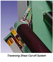 Traversing Knife Cut-Off System