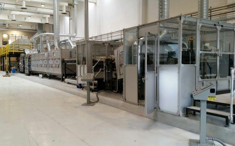 Filtration Media Casting, Coating & Drying Line