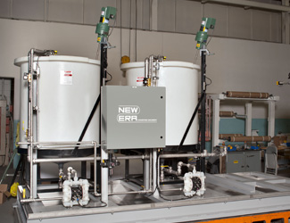 Solution Pumping and Mixing System